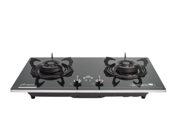 嵌入式雙頭煮食爐, 廚房, 爐具, 強化玻璃爐面