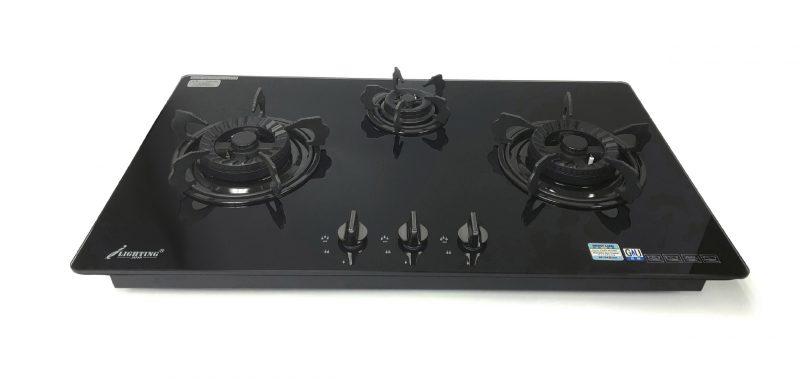 嵌入式三頭煮食爐